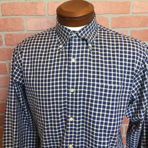 Peter Millar button down Front shirt med (4F16)